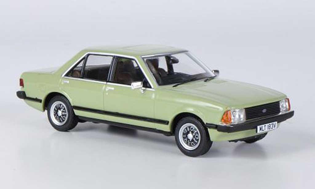 Ford Granada 1/43 Vanguards MkII 2.3L verte 1978 miniature