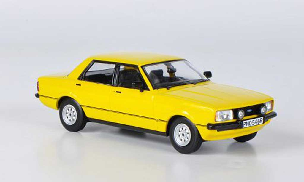 Ford Cortina 1/43 Vanguards MkIV 2.0S jaune miniature