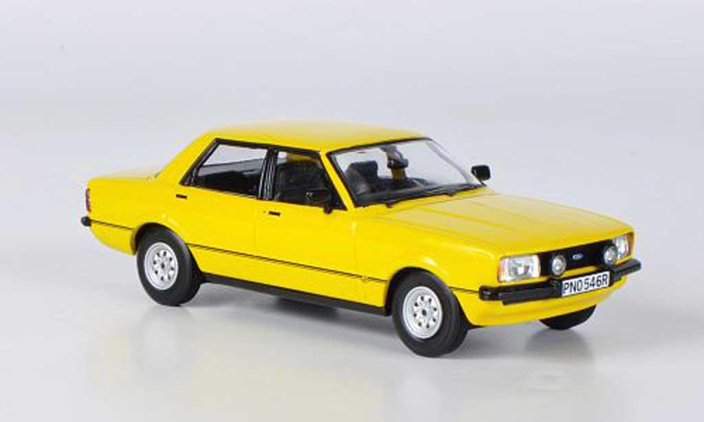 Ford Cortina 1/43 Vanguards MkIV 2.0S jaune miniature