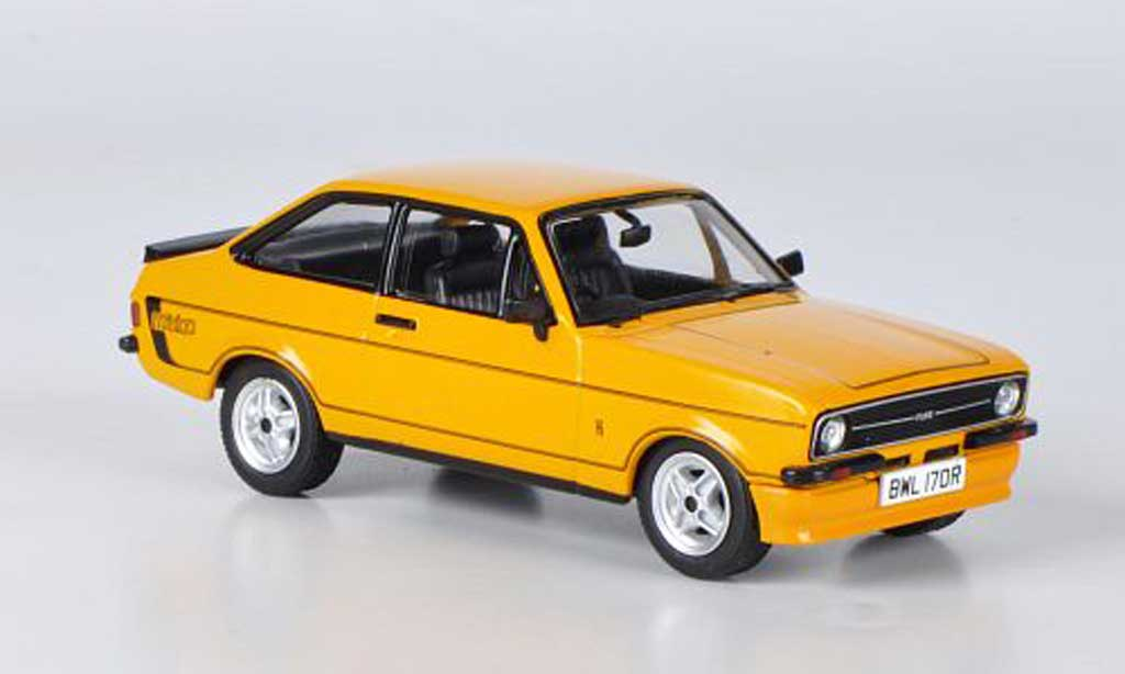 Ford Escort MK2 1/43 Vanguards  Mexico orange miniature