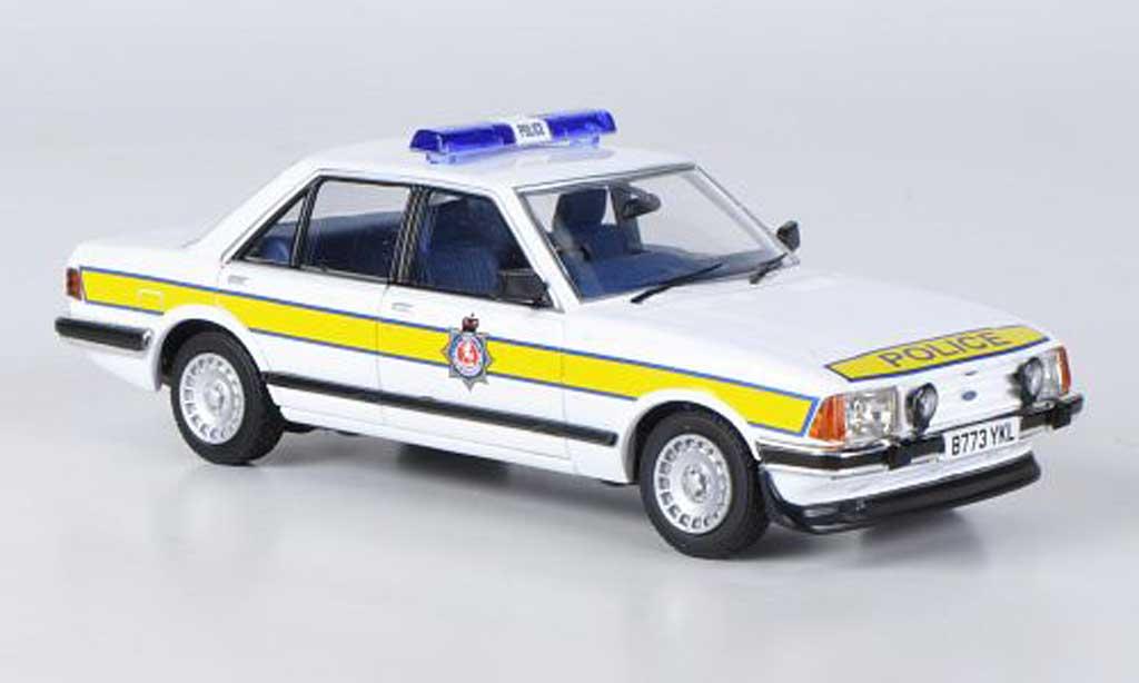 Ford Granada 1/43 Vanguards MkII Series 2 2.8i Kent Police 1982 miniature