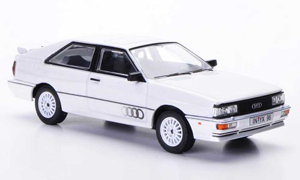 Audi Quattro 1/43 Vanguards MkII blanche LHD 1987 miniature