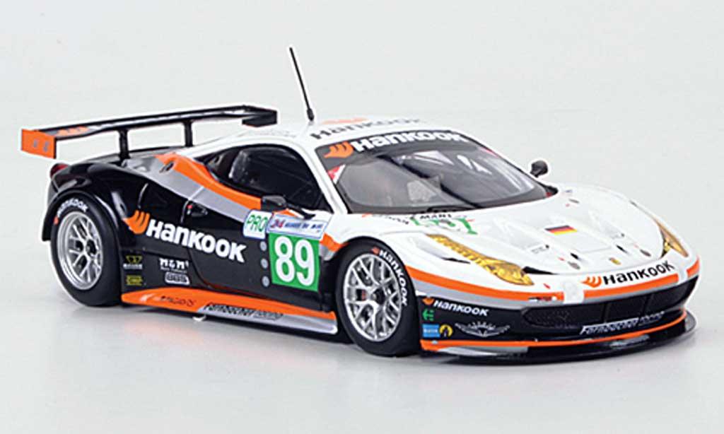 Ferrari 458 Italia GT2 1/43 Fujimi No.89 Hankook Team Farnbacher 24h Le Mans 2011