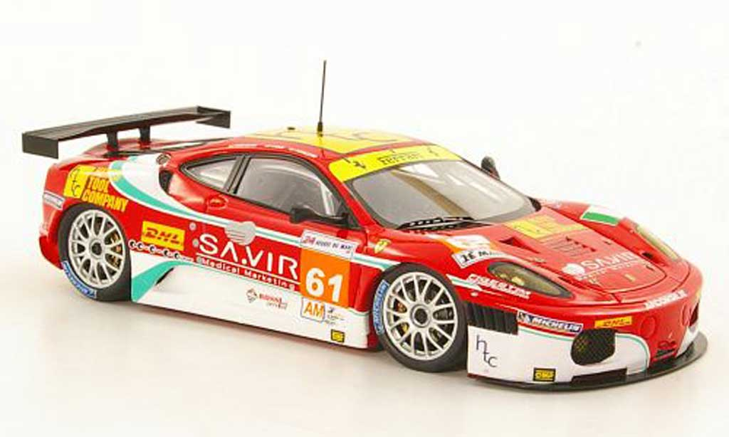 Ferrari F430 GTC 1/43 Fujimi No.61 Team AF Corse 24h Le Mans 2011 miniature