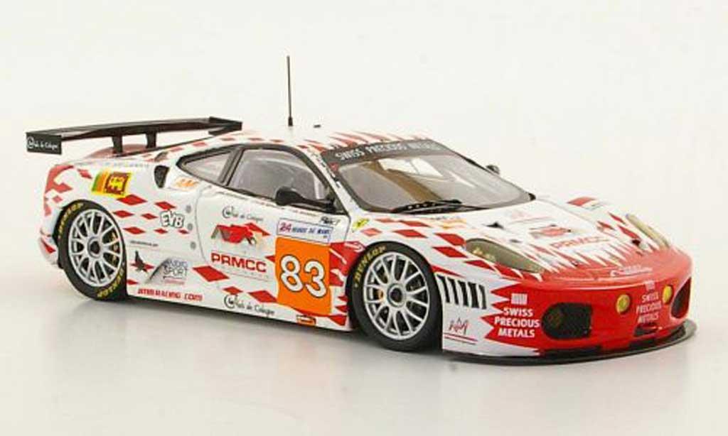 Ferrari F430 GTC 1/43 Fujimi No.83 Team JMB Racing M.Rodrigues / J.-M.Menahem / N.Marroc 24h Le Mans 2011 miniature