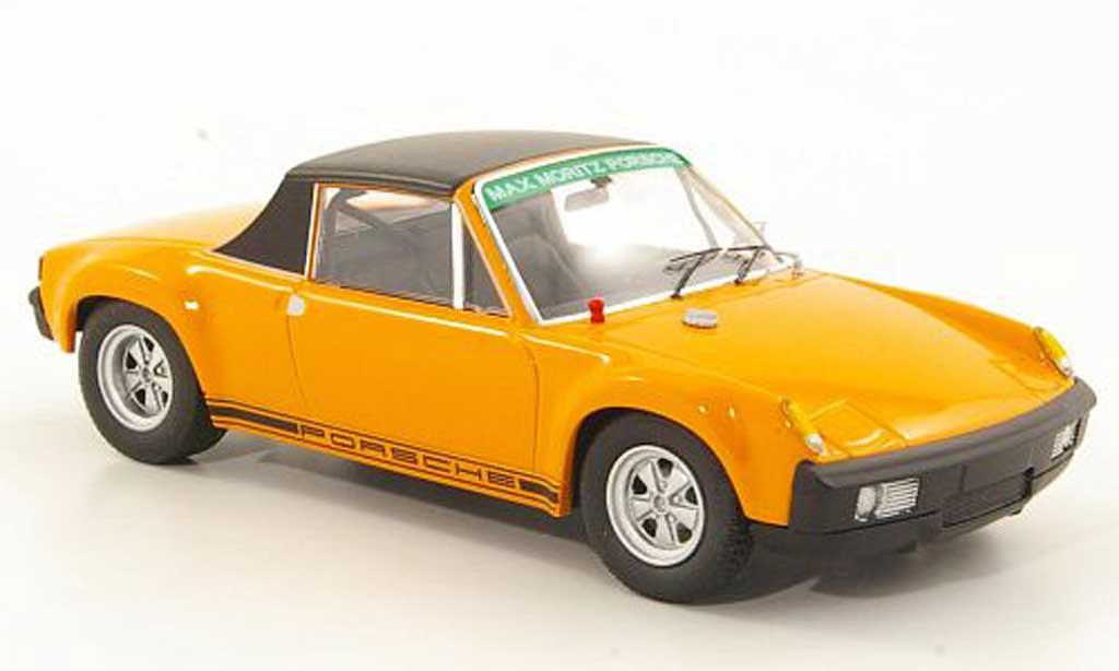 Porsche 914 1/43 Schuco 6 GT orange/noire Max Moritz Tuning Sondermodell MCW Limitierte Auflage 500 Stuck miniature