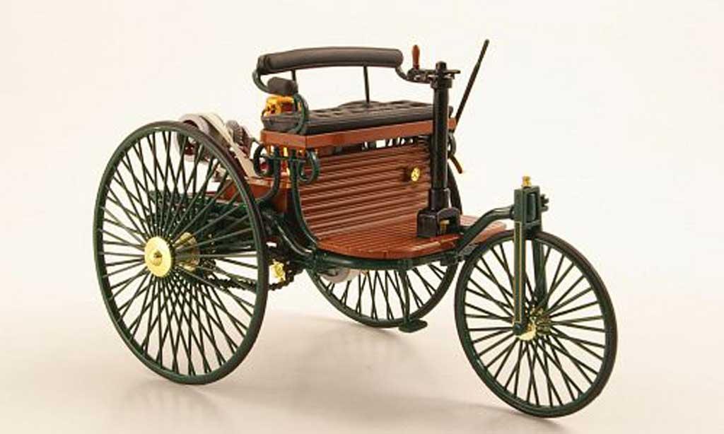 Mercedes Patent 1/18 Norev Benz Motorwagen grun miniature