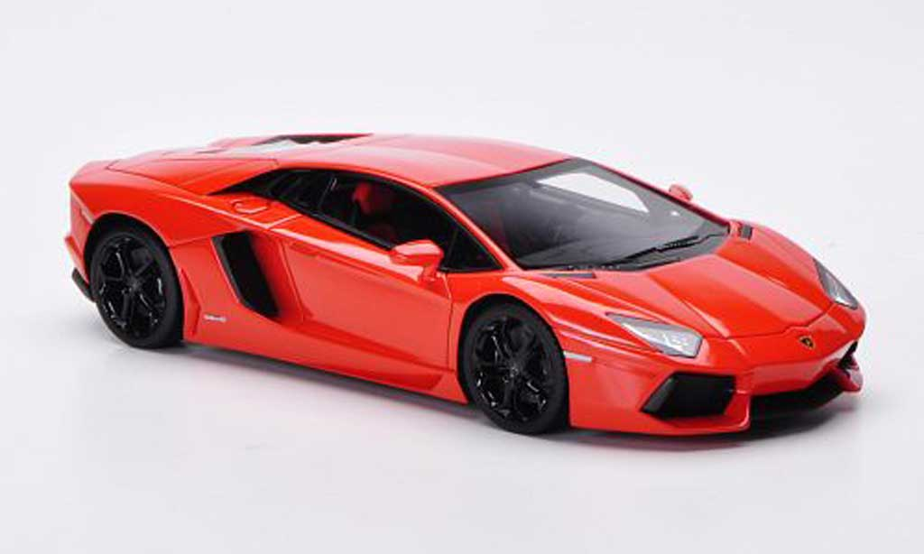 Lamborghini Aventador LP700-4 1/43 FrontiArt orange 2011 diecast model cars