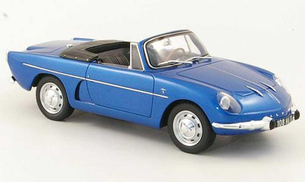 Alpine A108 1/18 Ottomobile Cabriolet bleu miniature