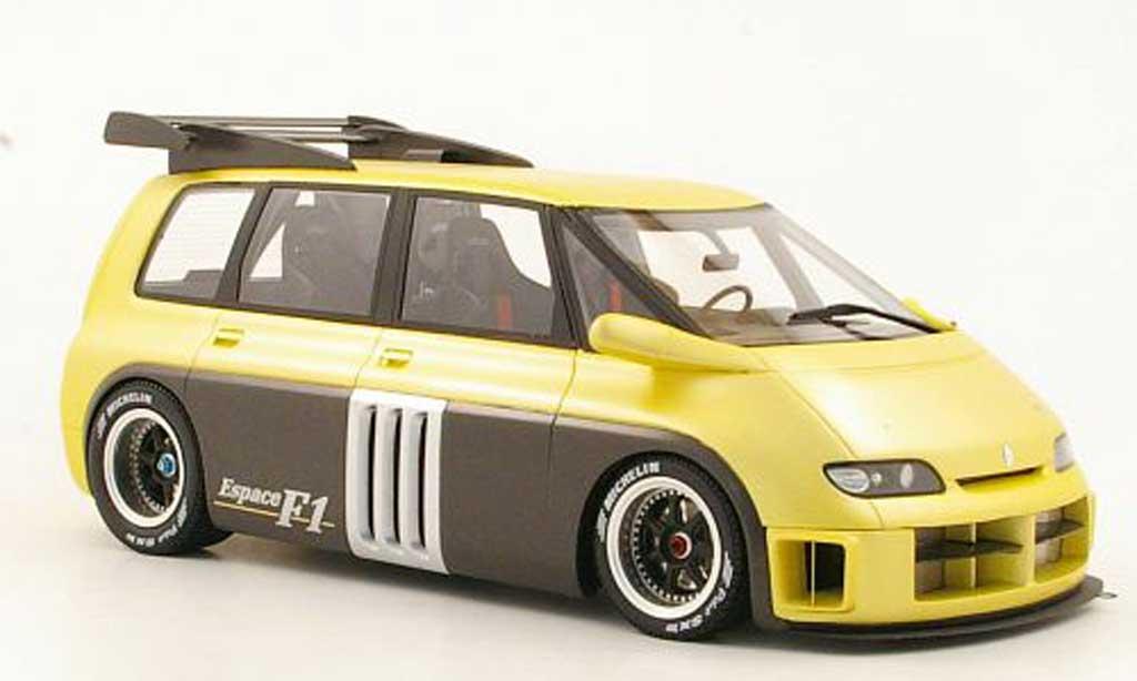 Renault Espace F1 1/18 Ottomobile beige miniature