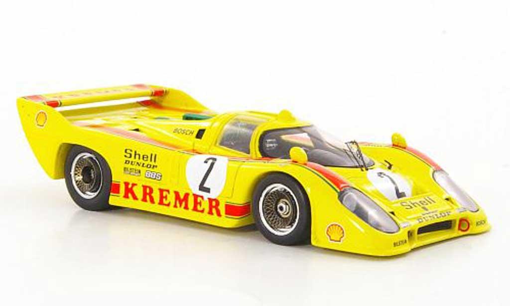 Porsche 917 1981 1/43 Spark No.2 Kremer B.Wolle/ H.Pescarolo Brands Hatch miniature