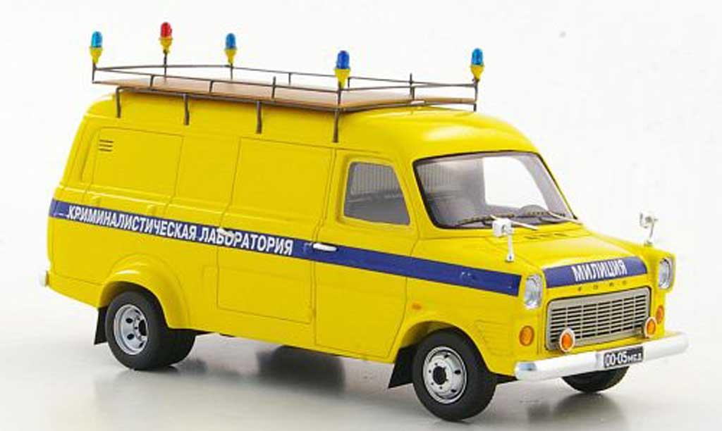 Ford Transit 1/43 Adler MkI Kriminalistisches Laboratorium - Polizei Moskau 1974 miniature