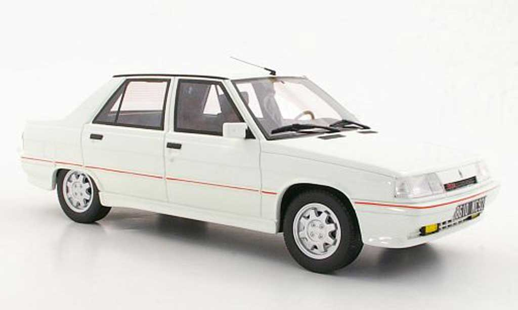 Renault 9 1/18 Ottomobile Turbo Phase II blanche miniature