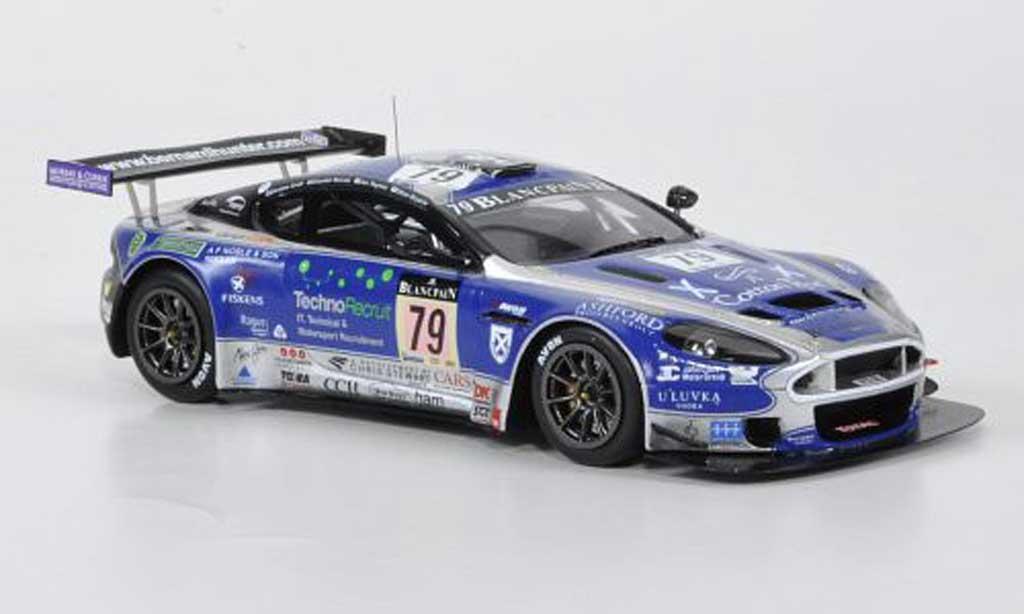 Aston Martin DBRS9 1/43 Spark No.79 Ecurie Ecosse 24h Spa 2011 diecast