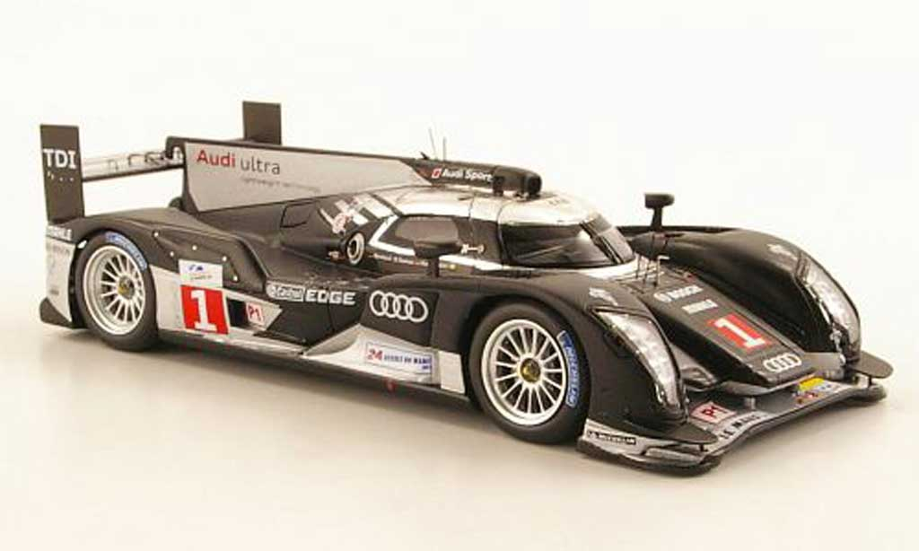 audi r18 2011 miniature tdi no 1 24h le mans t bernhard r dumas m rockenfeller spark 1 43. Black Bedroom Furniture Sets. Home Design Ideas