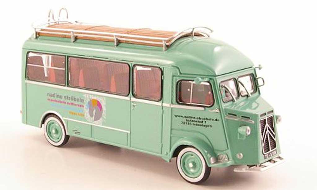 Citroen Type H 1/43 Eligor Fensterbus Nadine Strobele miniature