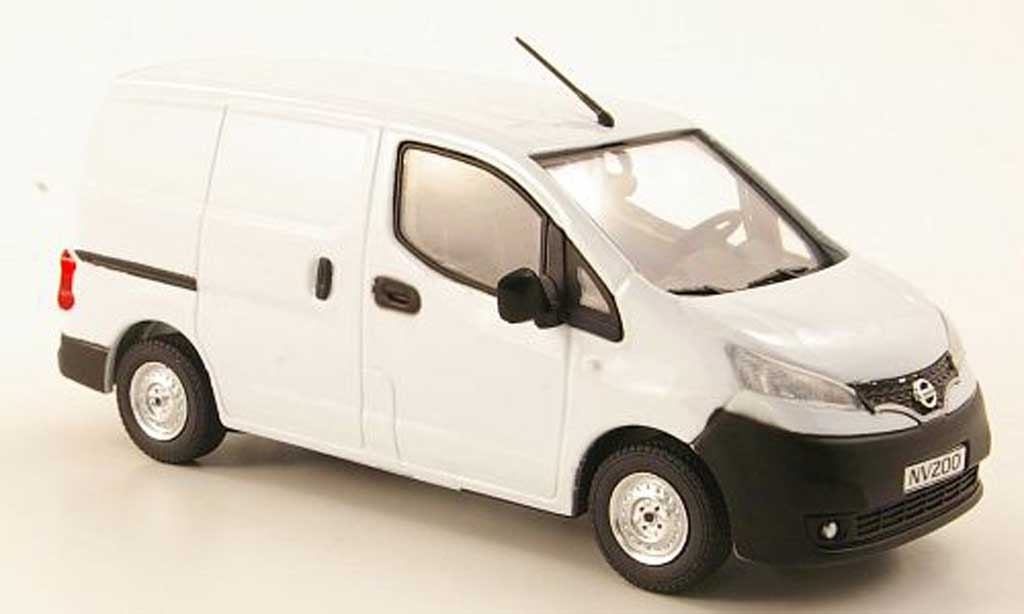 Nissan NV200 1/43 Eligor Kasten blanche miniature