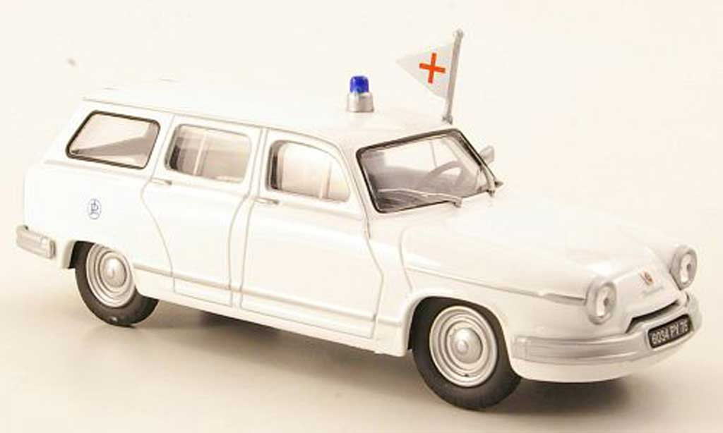 Panhard PL 17 1/43 Eligor Break Ambulance Krankenwagen (F) miniature