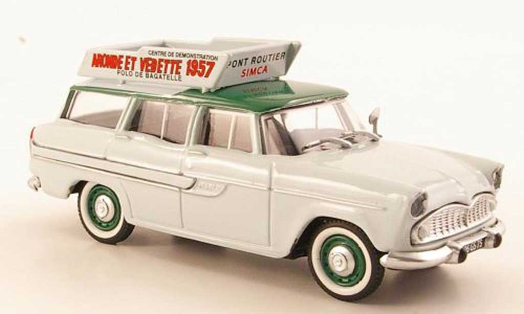 Simca Vedette 1/43 Eligor Marly Centre de demonstration SIMCA diecast