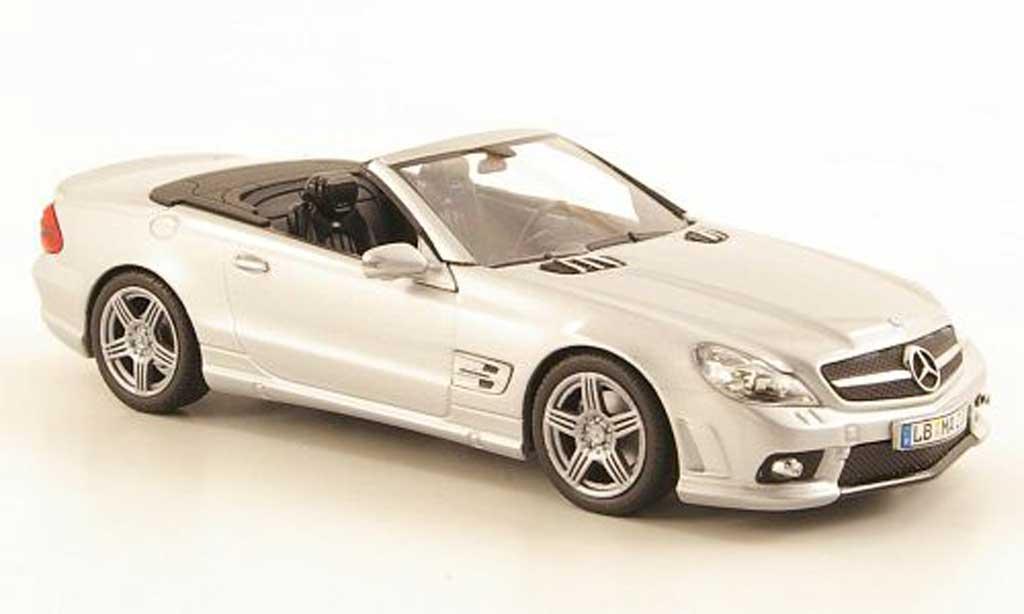 Mercedes Classe SL 63 1/43 Minichamps AMG (R230) grise  miniature