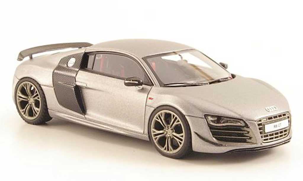 Audi R8 GT 1/43 Look Smart mattgrise miniature