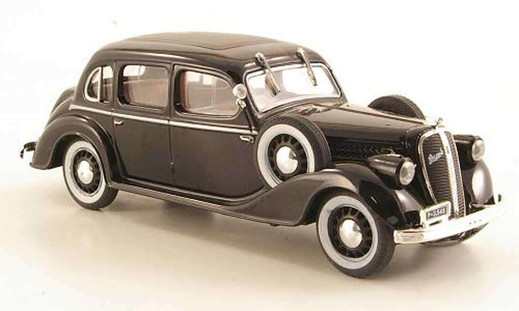 Skoda Superb 1938 1/43 Abrex 913 noire miniature