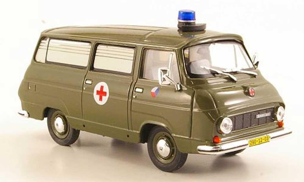 Skoda 1203 1/43 Abrex Rettungswagen Tschechische Armee miniature