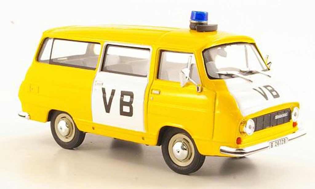 Skoda 1203 1/43 Abrex VB blanche/jaune miniature