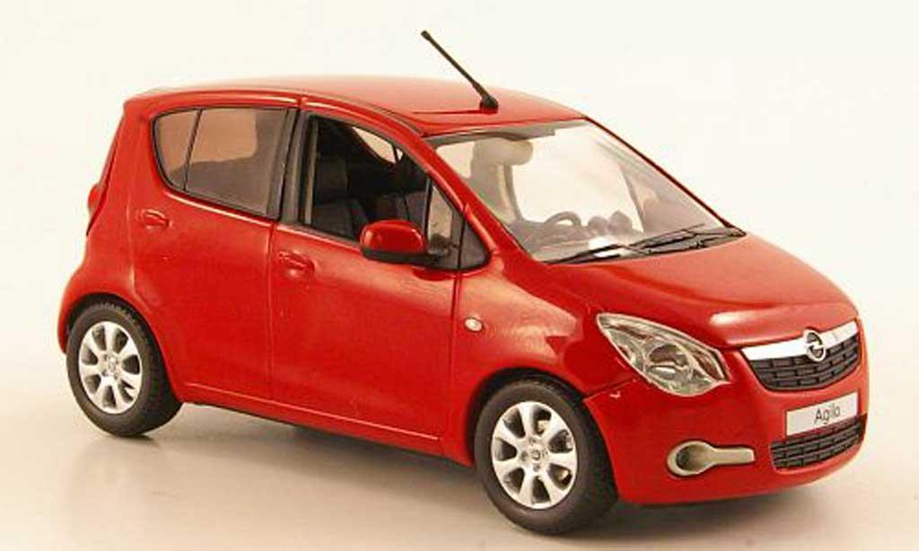 Opel Agila 1/43 Schuco B rouge 2008 miniature