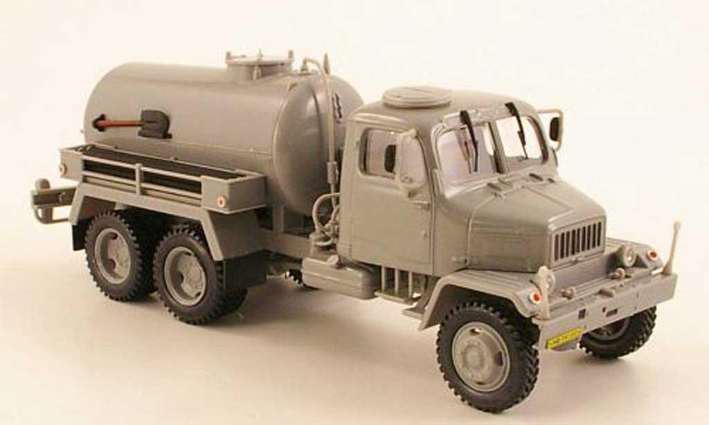 Praga V3S 1/43 Abrex Tank grau modellautos