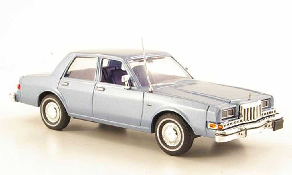 Dodge Diplomat 1/43 First Response bleu 1985 miniature
