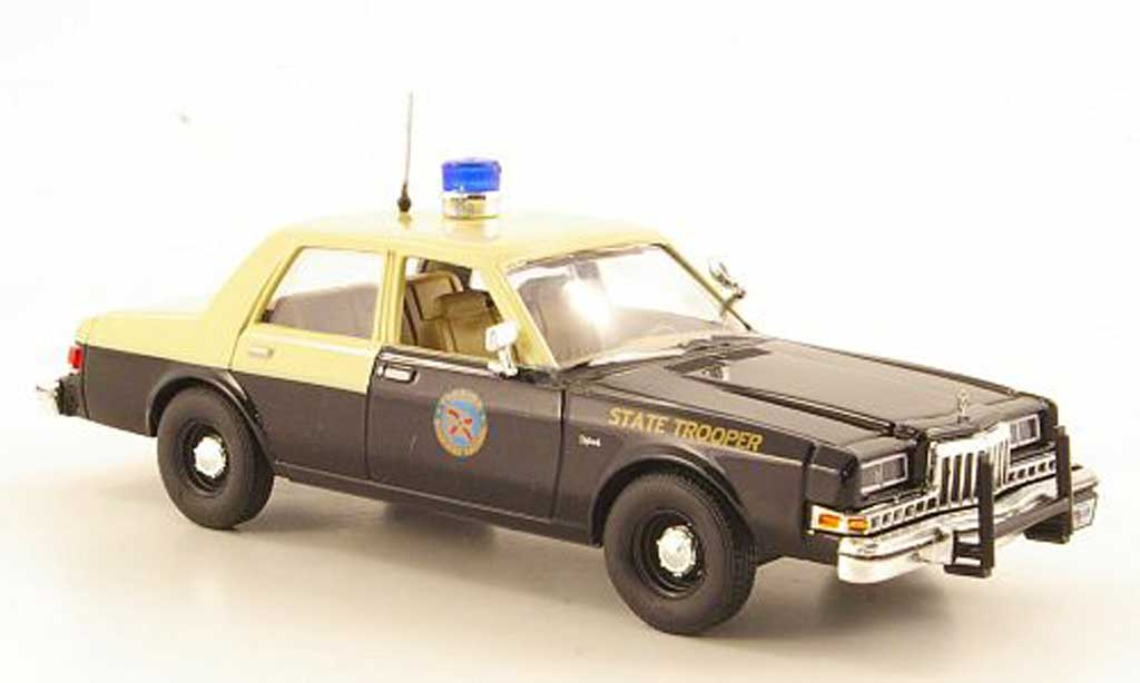 Dodge Diplomat 1/43 First Response Florida Highway Patrol 1985 miniature