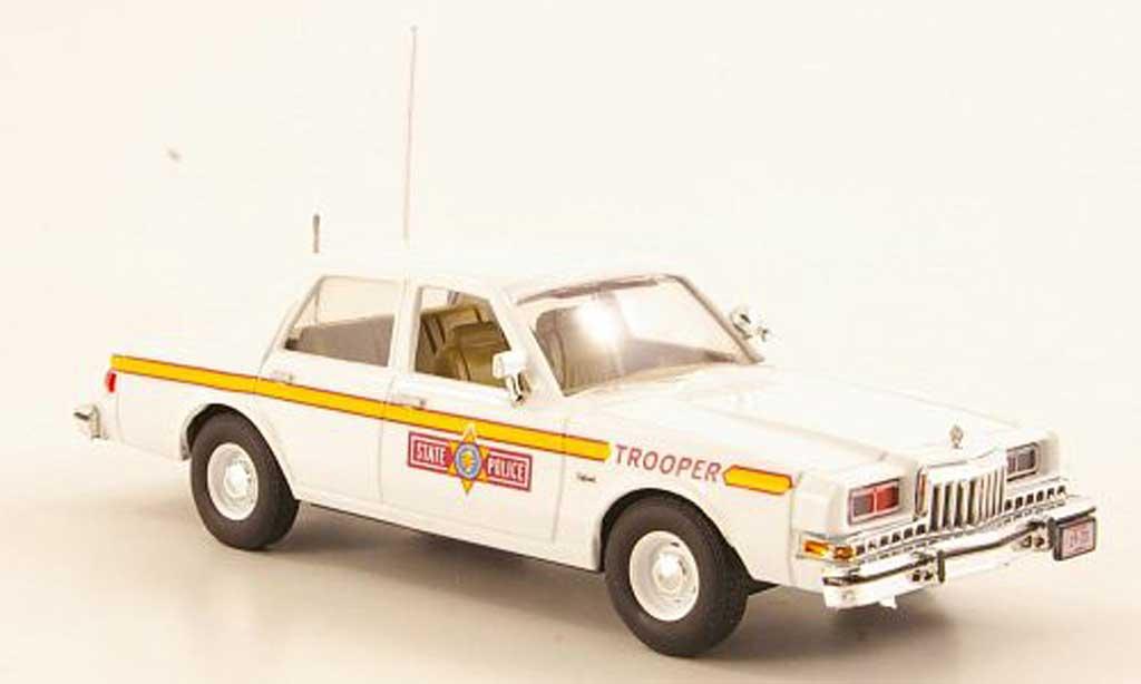 Dodge Diplomat 1/43 First Response Illinois State Police 1985 miniature