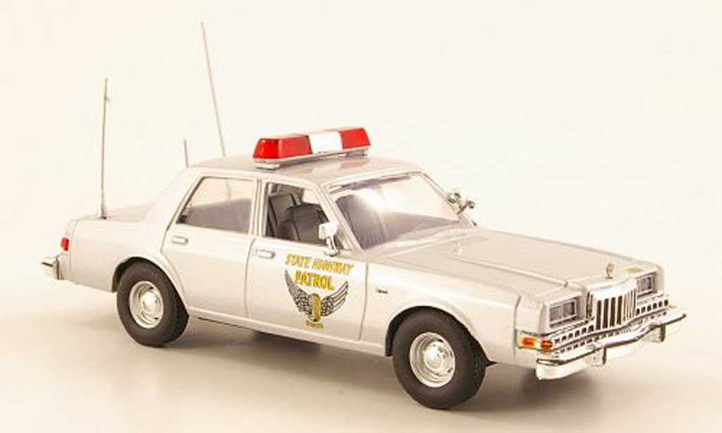 Dodge Diplomat 1/43 First Response Ohio State Highway Patrol 1985 miniature