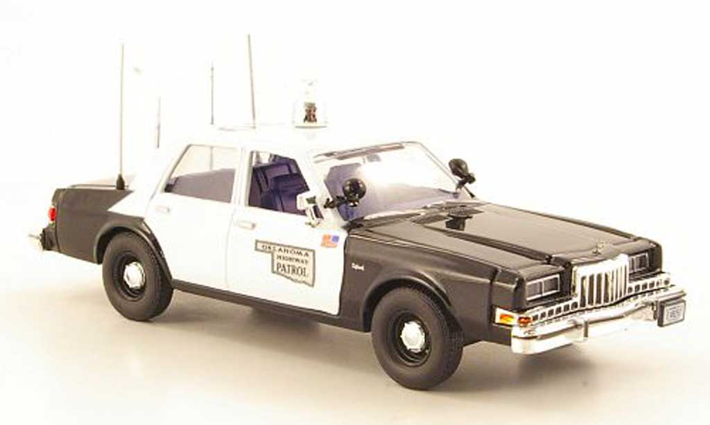 Dodge Diplomat 1/43 First Response Oklahoma Highway Patrol 1985 miniature