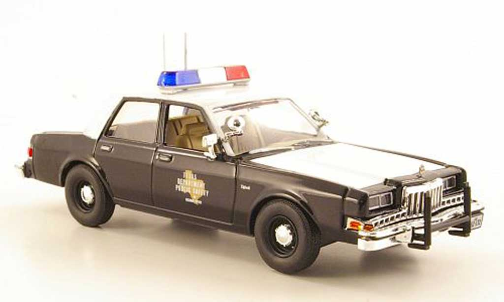 Dodge Diplomat 1/43 First Response Texas Highway Patrol 1985 miniature