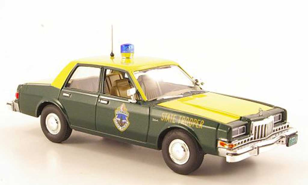 Dodge Diplomat 1/43 First Response Vermont State Police 1985 miniature