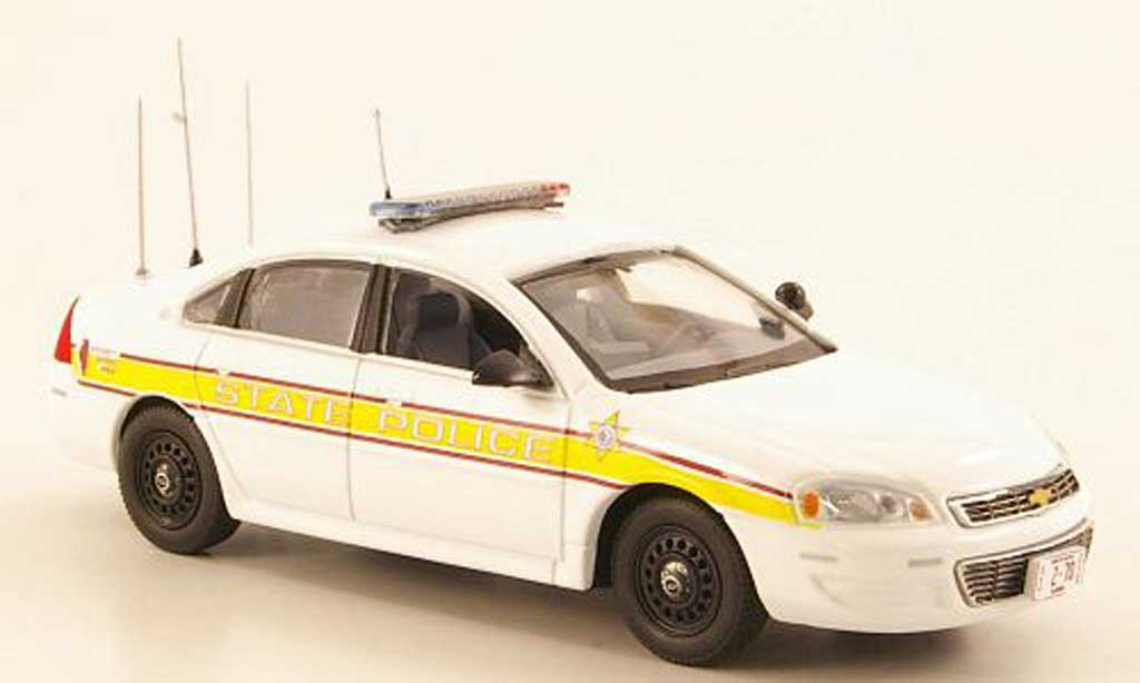 chevrolet impala 2011 illinois state police first response modellauto 1 43 kaufen verkauf. Black Bedroom Furniture Sets. Home Design Ideas