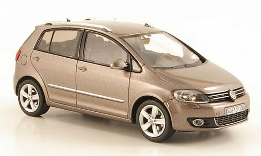 Volkswagen Golf VI 1/43 Schuco Plus marron 2009 miniature