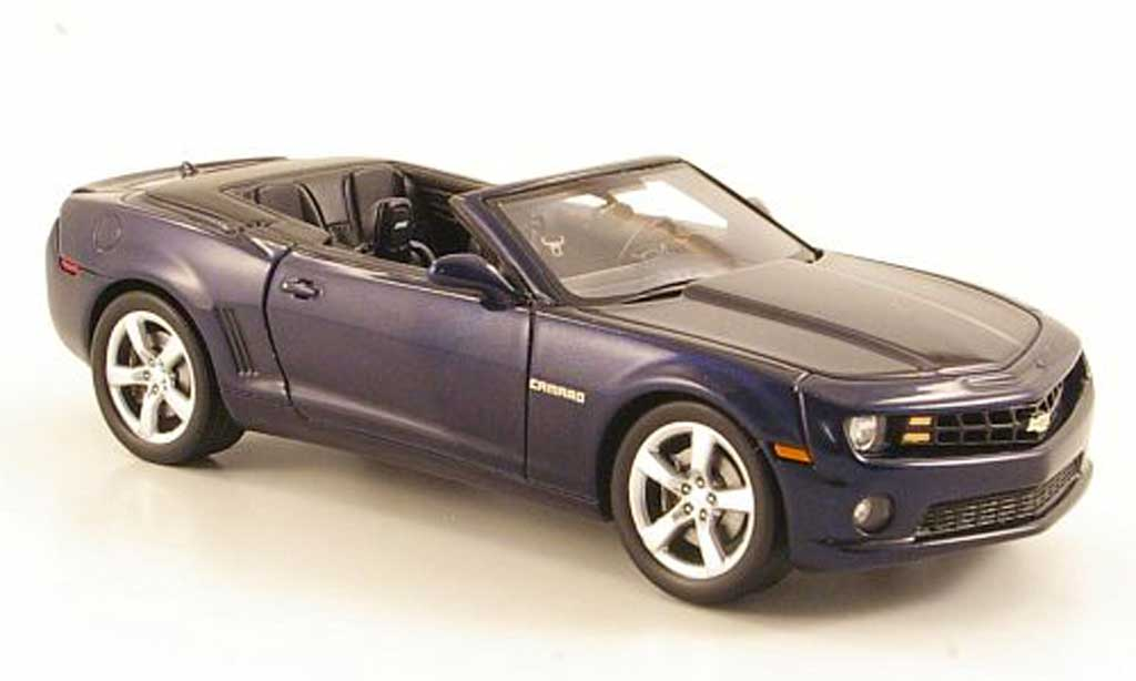 Chevrolet Camaro SS 1/43 Luxury Collectibles Convertible bleu 2011 miniature