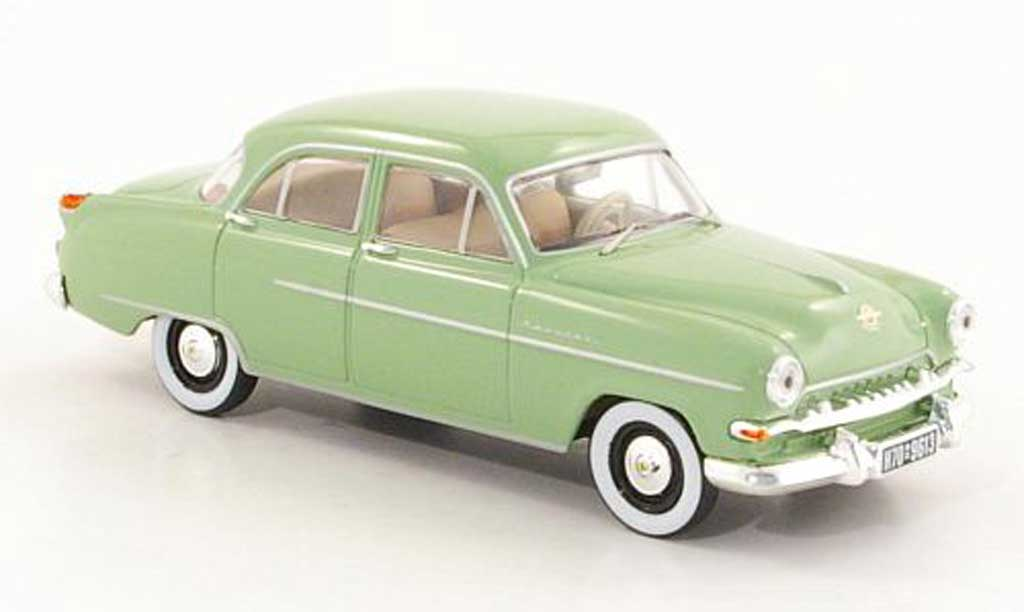 Opel Kapitan 1/43 Starline verte 1954 miniature