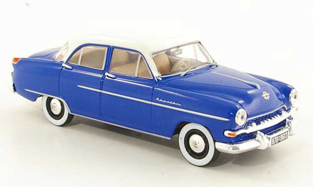 Opel Kapitan 1/43 Starline bleu/blanche 1954