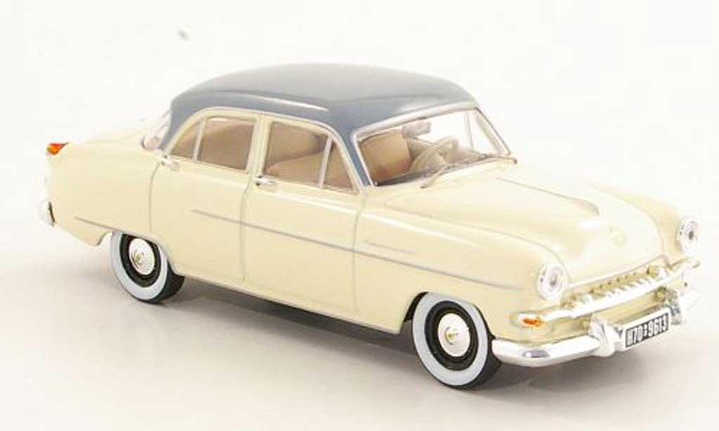 Opel Kapitan 1/43 Starline beige/grise 1954 miniature