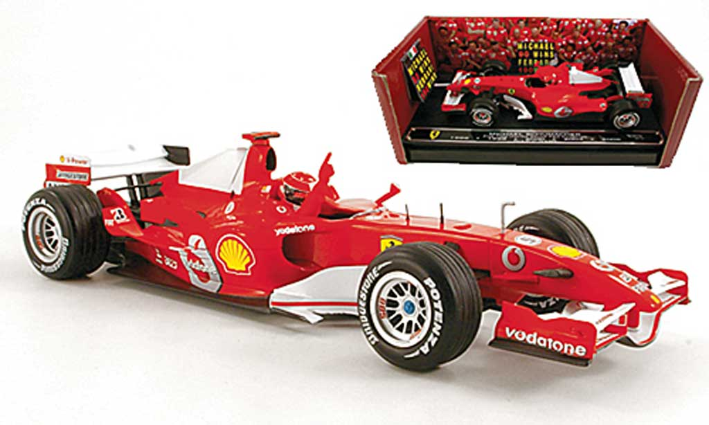 Ferrari F1 1/18 Hot Wheels Elite 248 F1 No.5 M.Schumacher GP Italien 2006 miniature