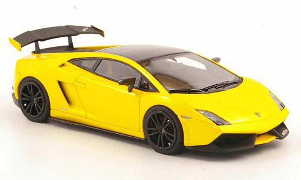 Lamborghini Gallardo LP570-4 1/43 Look Smart Super Trofeo Stradale jaune/noire miniature