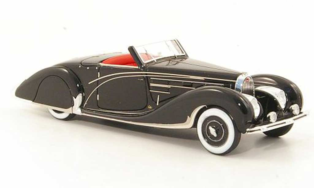 Bugatti 57 C 1/43 Look Smart abriolet Gangloff noire RHD 1939 miniature