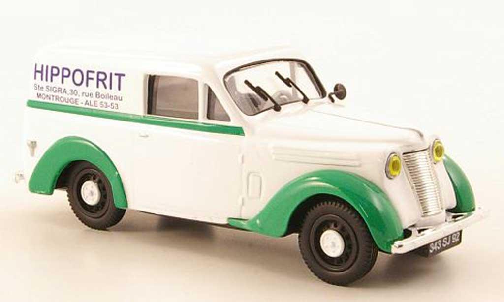Renault Juvaquatre 1/43 Eligor Kasten Hippofrit miniature