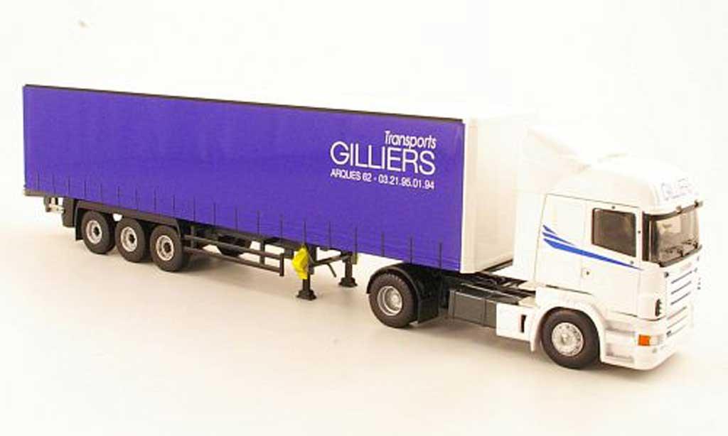 Scania Serie R 1/43 Eligor HighlineTransports Gilliers Gardinenplanen-SZ miniature