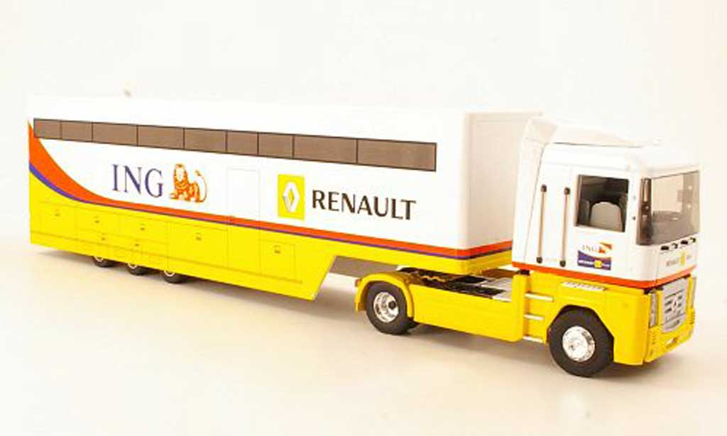 Renault F1 2008 1/43 Eligor Magnum 04 Racing Teamtransporter miniature