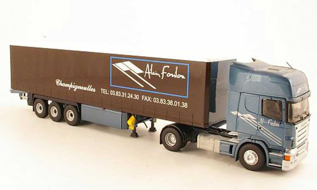 Scania Serie R 1/43 Eligor Topline Alain Foulon Gardinenplanen-SZ miniature